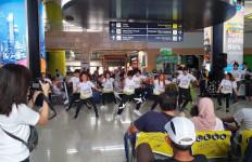 Flashmob Road to Haornas 2019 Bikin Pengunjung di Stasiun Gambir Kaget - JPNN.com