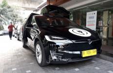 Menhub Budi Minta 1.000 Taksi Listrik Segera Beroperasi, Keren! Ada Tesla Model X - JPNN.com