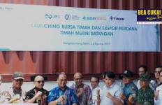 Bea Cukai Ikut Dalam Ekspor Perdana Timah Murni Batangan dari Bangka Belitung - JPNN.com