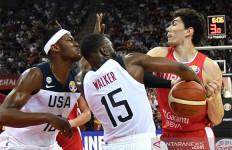 Amerika Serikat Nyaris Kalah dari Turki di Piala Dunia FIBA 2019 - JPNN.com