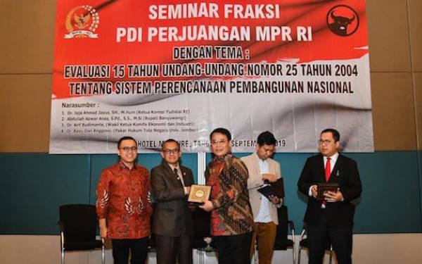 Basarah MPR Ungkap Empat Kelemahan Mendasar UU SPPN - JPNN.com