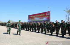 Ratusan Prajurit TNI Diberangkatkan ke Perbatasan Indonesia - Timor Leste - JPNN.com