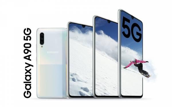 Samsung Galaxy A90 5G Resmi Diluncurkan, Intip Spesifikasinya - JPNN.com