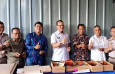 Kementan Lepas Ekspor 240 Kg Salak Tasik ke Tiongkok - JPNN.com