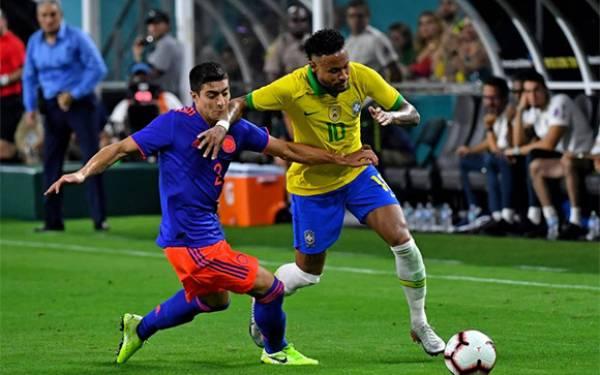 Brasil 2-2 Kolombia: Neymar Sumbang 1 Gol dan Minta 1 Penalti - JPNN.com