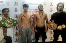 James Mokoginta dan Felmy Sumahe Berebut Sabuk WBC Asia - JPNN.com