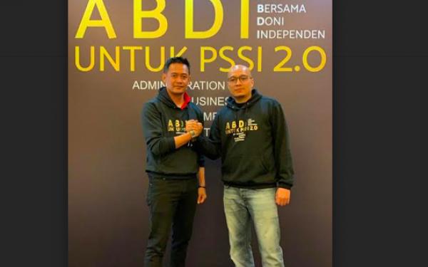 Pasangan Arif - Doni Siap Menangkan Pemilihan Pengurus PSSI - JPNN.com