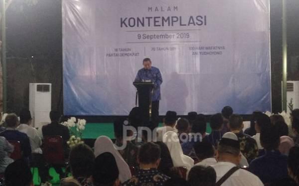 SBY Sampaikan Rasa Duka Saat Momen Perayaan Ultah ke-70 - JPNN.com