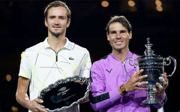 Ini yang Terjadi jika Duel Nadal vs Medvedev di Final US Open Lima Menit Lebih Lama - JPNN.com
