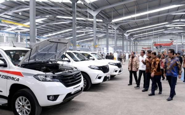 Gubernur Ganjar Pengin Jadikan Esemka Garuda 1 Sebagai Mobil Dinas - JPNN.com