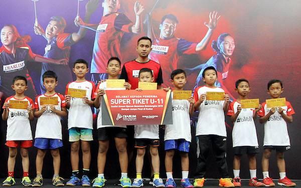Raih Super Tiket, 26 Peserta Berpeluang Masuk PB Djarum - JPNN.com