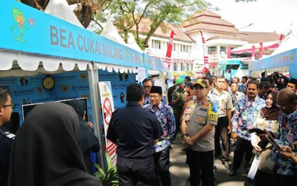 Bea Cukai Malang Meriahkan Roadshow Jelajah Negeri Bangun Antikorupsi 2019 - JPNN.com