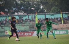 PSMS Medan 1 vs 0 PSCS: Debut Jafri Sastra Berjalan Mulus - JPNN.com