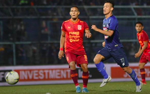 Liga 1 2019: Arema FC Berbagi Poin dengan Borneo FC - JPNN.com