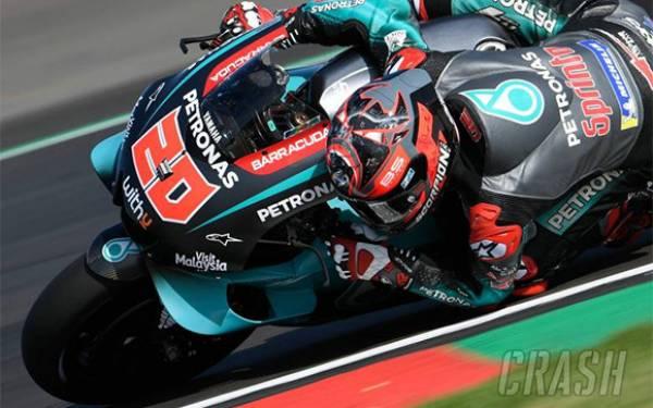 Quartararo Paling Kencang di FP1 MotoGP San Marino, Rossi Posisi Sembilan - JPNN.com