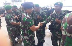 Danlanal Denpasar Sambut Satgas Operasi Pamtas RI - Timor Leste - JPNN.com