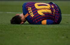 Aneh, Cedera Betis Lionel Messi Belum Sembuh - JPNN.com