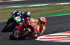 4 Pembalap Yamaha Kepung Marquez di Hari Pertama Latihan MotoGP San Marino - JPNN.com