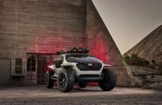 Mobil Listrik Offroad Berteknologi Otonom Milik Audi Guncang Frankfurt - JPNN.com