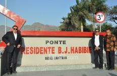Jembatan Rp 54 Miliar Jadi Tanda Sayang Timor Leste kepada BJ Habibie - JPNN.com