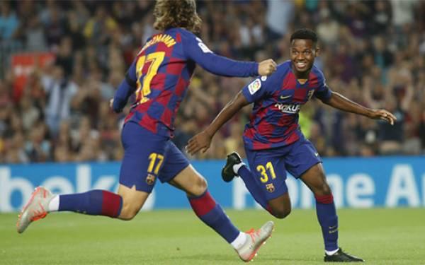 Barcelona 5-2 Valencia: Ansu Fati Kembali jadi Bintang - JPNN.com