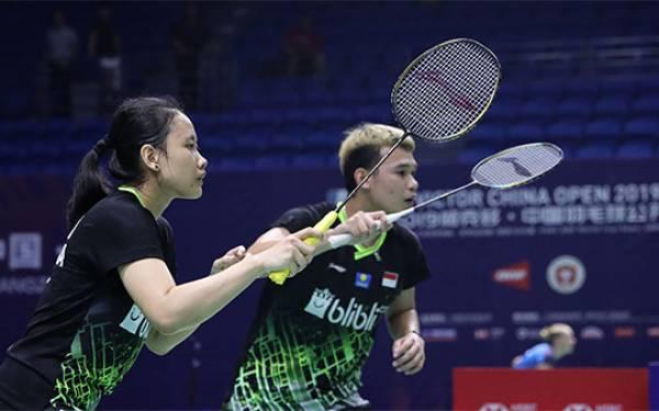 China Open 2019: Praveen/Melati Tumbang, Rinov/Pitha ke 16 Besar - JPNN.com