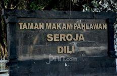Mengunjungi TMP Seroja Dili pada Hari Pemakaman BJ Habibie - JPNN.com