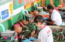 Prajurit TNI di Perbatasan: Setetes Darahmu Selamatkan Sejuta Jiwa - JPNN.com