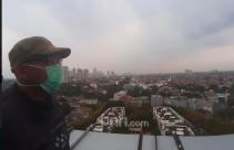 Selamat Pagi! Jakarta Posisi Ketujuh Kualitas Udara Terburuk di Dunia Hari Ini - JPNN.com