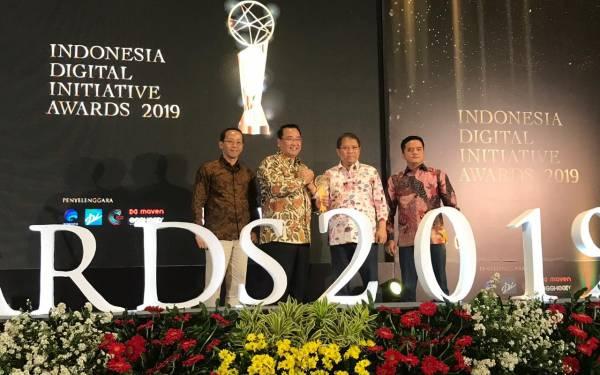 Kemendes PDTT Raih Penghargaan Indonesia Digital Initiative Award - JPNN.com