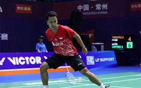 Ginting Fantastis, Lolos ke Final Usai Main 12 Gim, Eh Ketemu Momota Lagi - JPNN.com