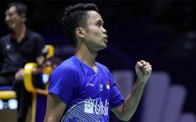 Lihat Cuplikan Aksi Ginting di Semifinal China Open 2019 - JPNN.com