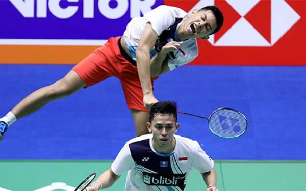 Semifinal China Open: FajRi Siap Bertarung Lawan Minions - JPNN.com