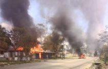 Wamena Memanas, Kantor PLN Terbakar, Nomor Petugas Tidak Aktif - JPNN.com