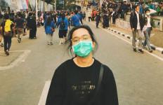 Ikut Aksi Demo di DPR, Rachel Amanda: Hidup Mahasiswa - JPNN.com