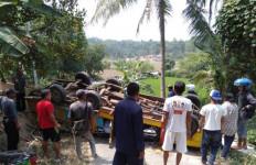 Mobil Odong-Odong Terbalik, 29 Orang Luka-Luka - JPNN.com