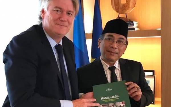 Ikhtiar Kiai Staquf Kampanyekan Islam Ala NU di Ibu Kota Uni Eropa - JPNN.com
