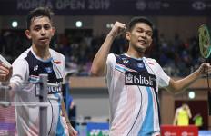Ganda Putra Indonesia Masih Sempurna Hingga 16 Besar Denmark Open 2019 - JPNN.com