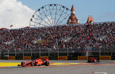 Blunder Ferrari di F1 Rusia. Leclerc Cuma Podium Ketiga, Vettel Gagal Finis - JPNN.com