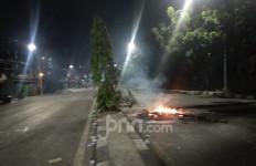 Kondisi Terkini Pejompongan Pascabentrokan Polisi Vs Demonstran - JPNN.com