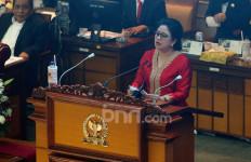 Disaksikan Megawati, Puan Mengakhiri Pidato Perdana Sebagai Ketua DPR dengan Teriakan Merdeka! - JPNN.com