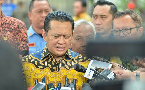 Bamsoet tak Maju Ketum Golkar Lawan Airlangga setelah Jadi Ketua MPR - JPNN.com