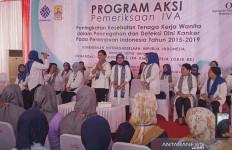 Iriana Jokowi Ajak Perempuan Deteksi Dini Kanker Serviks - JPNN.com