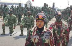 HUT TNI Satu Perempuan Bakal Bertarung dengan Empat Prajurit - JPNN.com