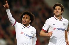 Willian Pastikan Kemenangan Pertama Lampard Bersama Chelsea di Kancah Eropa - JPNN.com