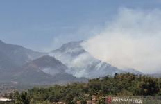 Kepulan Asap Menutupi Pegunungan Malabar Bandung - JPNN.com