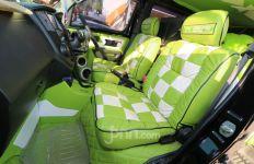 Modifikasi Daihatsu Grand Max: Warna Nyentrik dengan Motif Songket Bali - JPNN.com