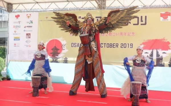 Angklung dan Egrang Hebohkan Pembukaan Indonesia-Japan Festa 2019 - JPNN.com