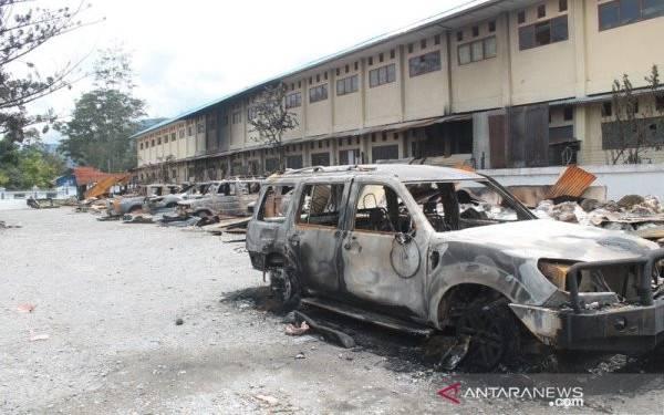 1.010 Rumah, Kantor, Kendaraan, Dibakar saat Rusuh Wamena - JPNN.com