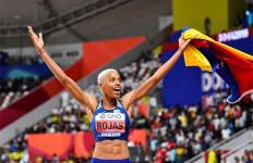 Yulimar Rojas, Melompat Sejauh 15,37 Meter Demi Negara yang Sedang Krisis - JPNN.com
